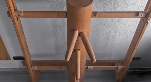 WingTsun-Holzpuppe